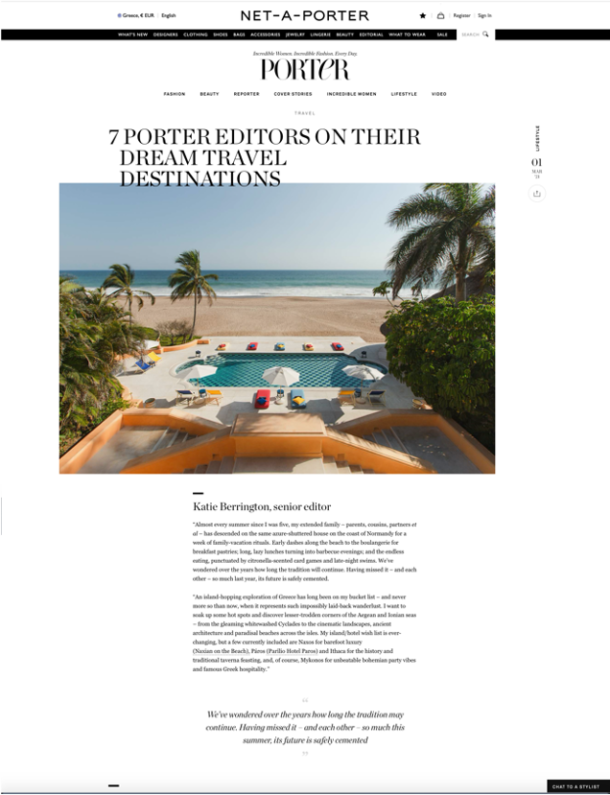 Porter mag – march 2021