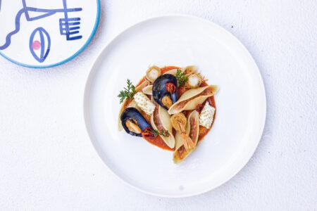Seafood 'pastitsio'(5)